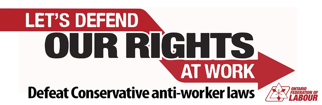 Stop Tim Hudak's Low-Wage Agenda