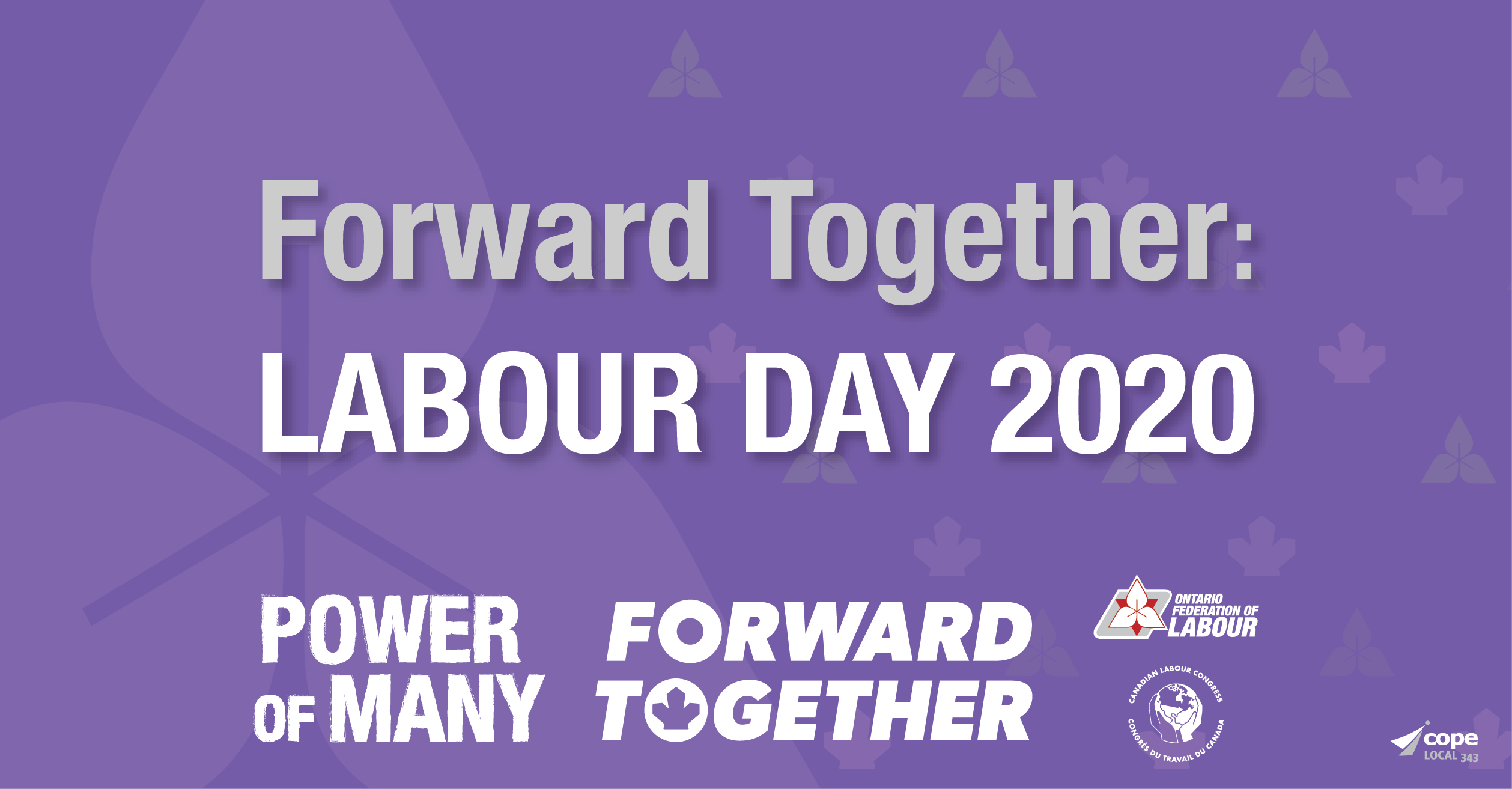 Labour Day 2020 The Ontario Federation Of Labour